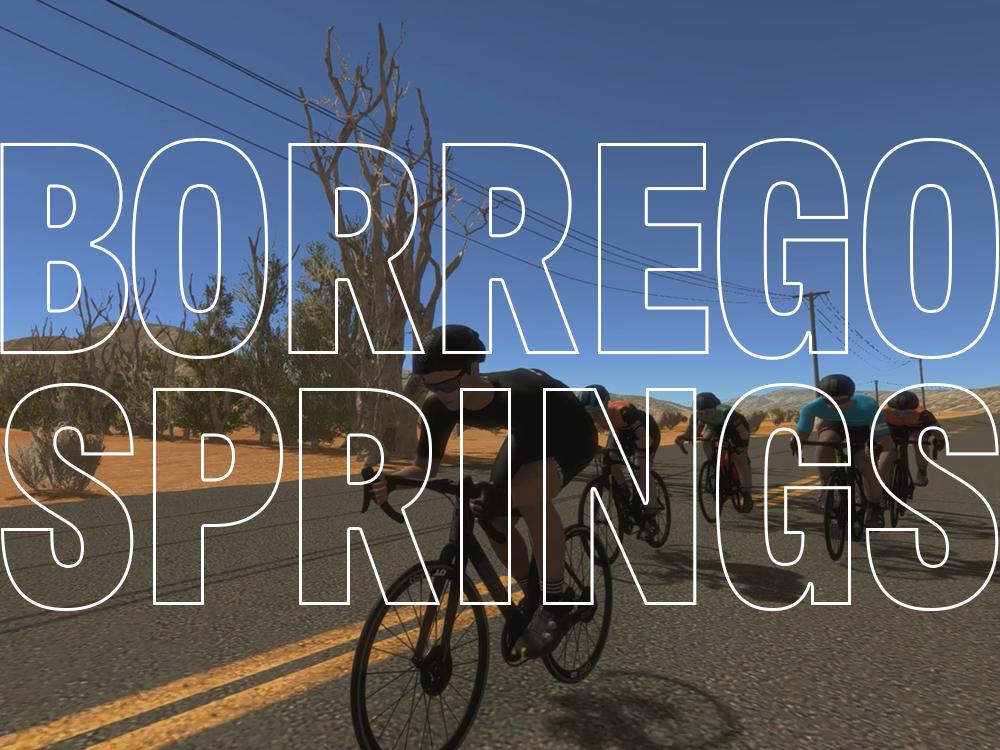 Borrego Springs Cycling Course