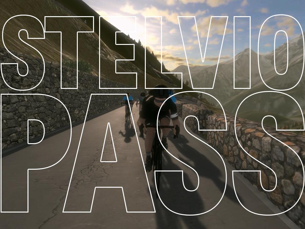 Cycling up the Stelvio Pass