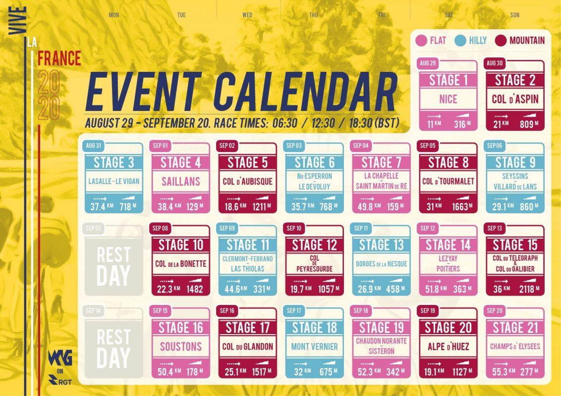 Calendar VLF2020